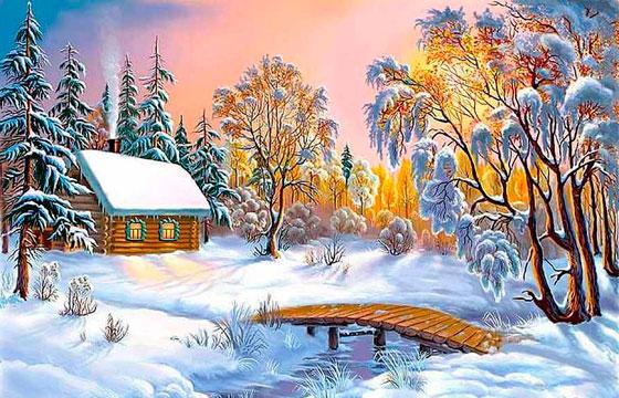 Пословицы о зиме