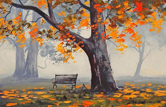 Поговорки про осень