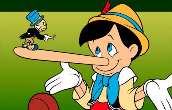 Пословицы о лжи