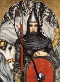 Добрыня и Дунай сватают невесту князю Владимиру