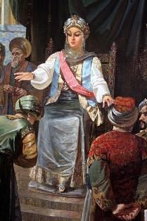 Русская девушка в татарском плену