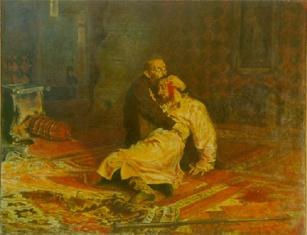 Гнев Ивана Грозного на сына