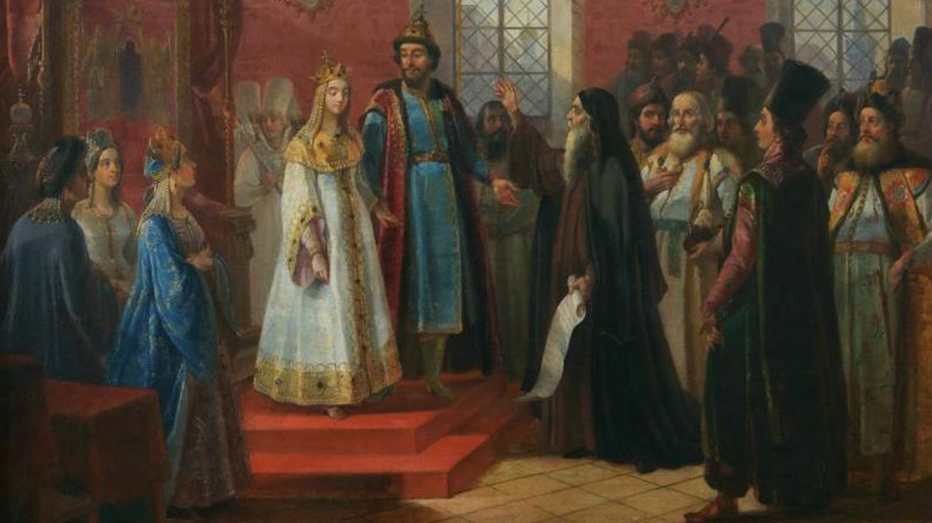 Рождение царевича Петра