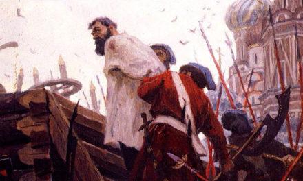Разин в тюрьме
