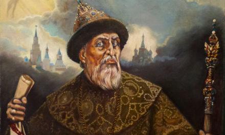 Иван Грозный встречает в избушке добра молодца