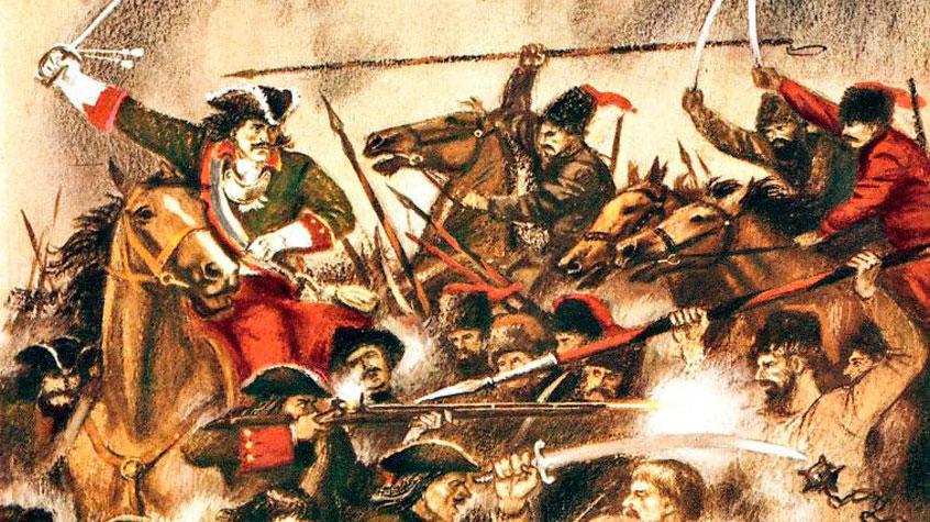 Царь сообщает боярам об уходе Некрасова