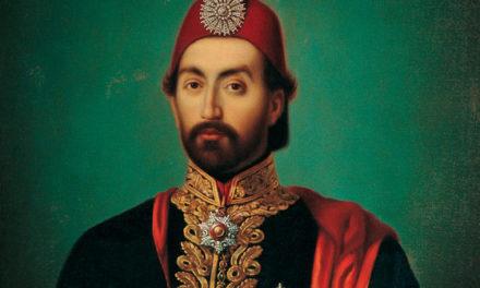 Турецкий султан пишет письмо