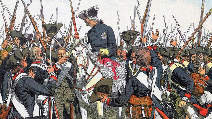 Прусский король похваляется захватить Русскую землю