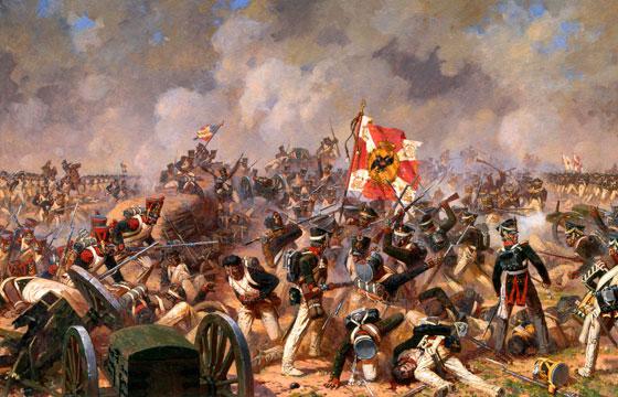 Битва с французами
