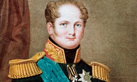 Хоронят Александра I