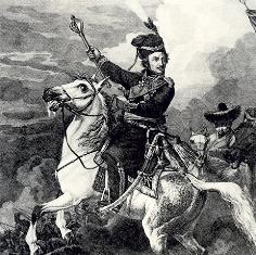 Платов во время битвы