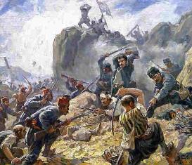 Казаки получают приказ идти в турецкие земли