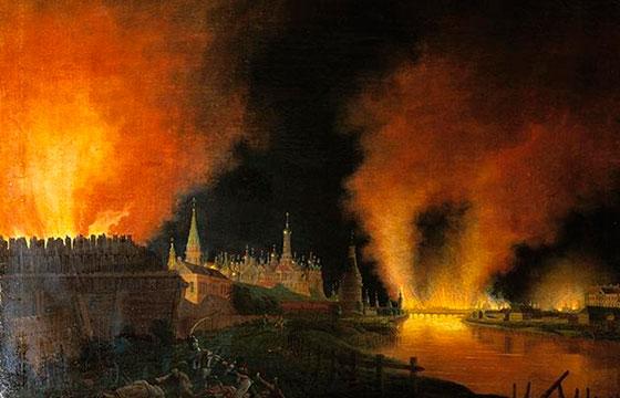 Француз зажигает Москву
