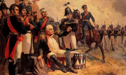 Кутузов призывает солдат победить французов
