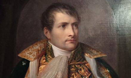 Наполеон горюет о разгроме и гибели племянника (брата)