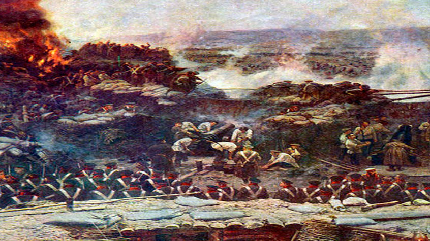 Солдаты под Севастополем